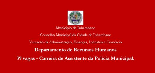 Policia Municipal Vagas